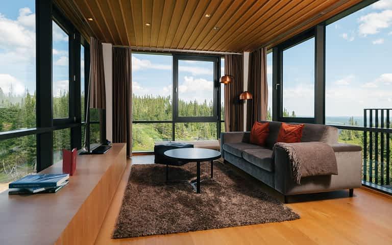Silver livingroom