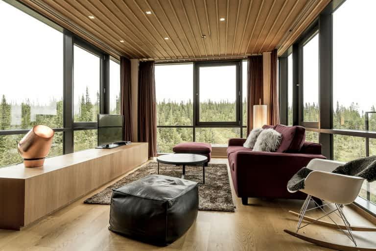 Silver Deluxe - 2 bäddar / 50 m², Denna 2 rumssvit för två är ett fantastiskt dubbelrum med både utsikt och ett badrum utöver det vanliga.